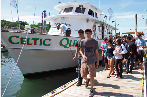Ward melville fishing club outdoor tom for Celtic quest fishing